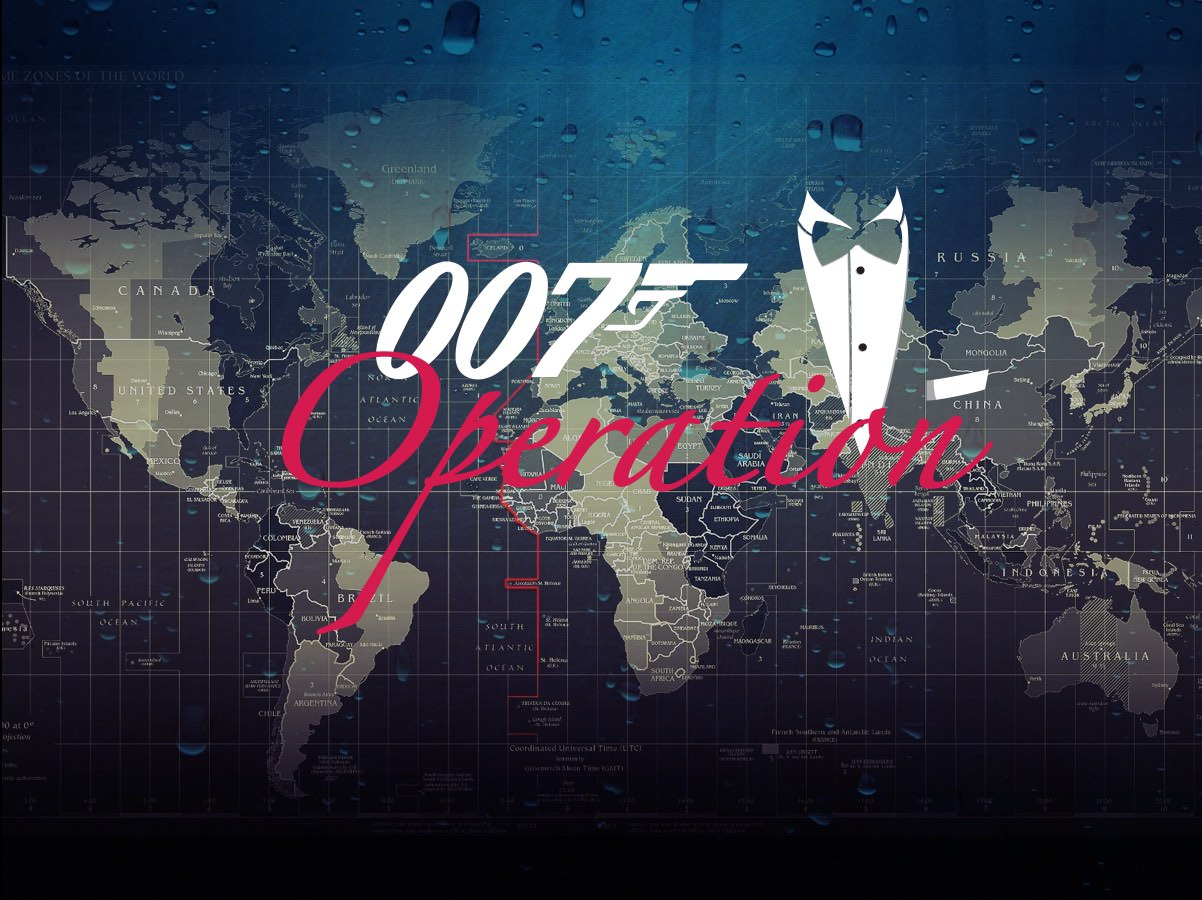 Caccia al Tesoro con iPad per team building interattivi 2.0 city game experience Operation 007