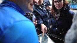 Caccia al Tesoro con iPad per team building interattivi 2.0 city game The italian job codecrackers mappa