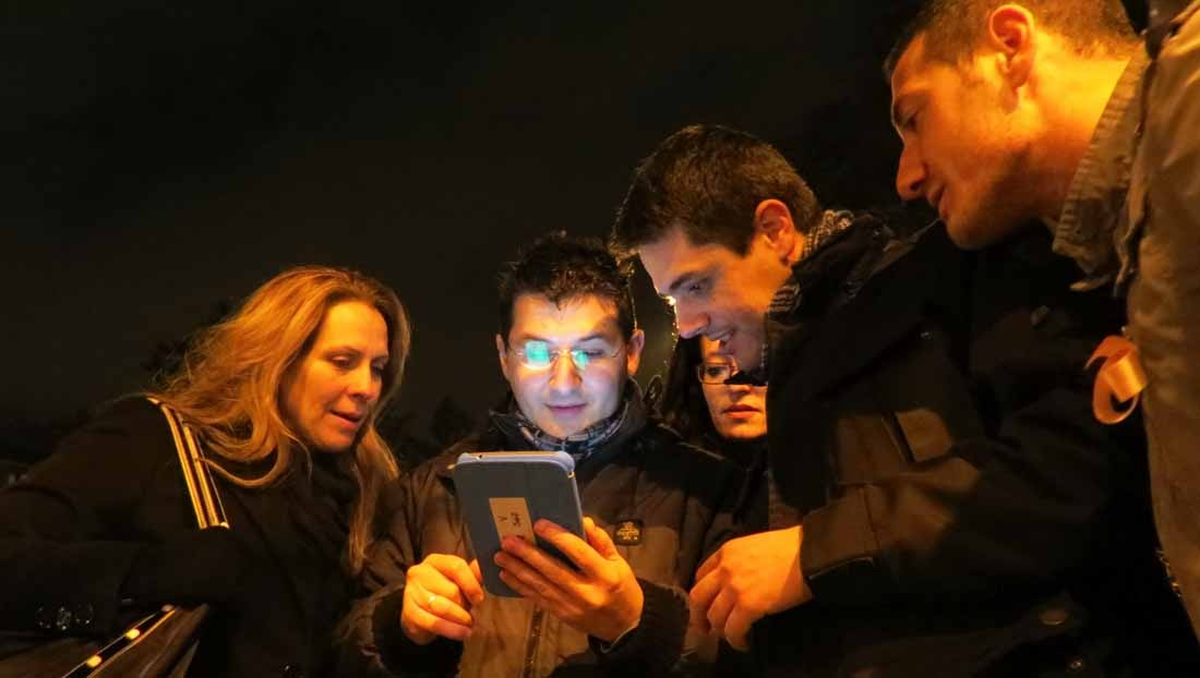 Caccia al Tesoro con iPad per team building interattivi 2.0 by night conquering Monza