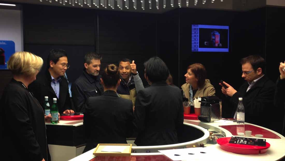 Caccia al Tesoro con iPad per team building interattivi 2.0 degustazione caffè Nespresso conquering Florence