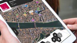 Caccia al Tesoro con iPad per team building interattivi 2.0 mappa tablet