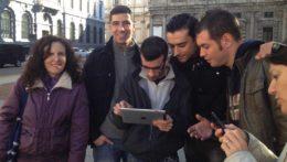Caccia al Tesoro con iPad per team building interattivi 2.0 city game spy game iPad