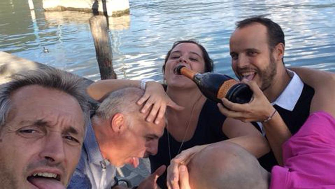Caccia al Tesoro con iPad per team building interattivi 2.0 wine taste conquering Sarnico