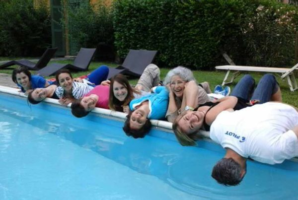 Chateauform Team Building in piscina, Villa Gallarati Scotti Oreno, Monza
