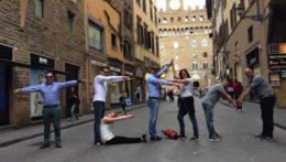 Caccia al Tesoro con iPad per team building interattivi 2.0 conquering Florence nome prospettiva Firenze