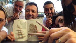 Caccia al Tesoro con iPad per team building interattivi 2.0 da Vinci codex Milano ponte autoportante Leonardo