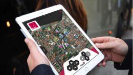 Caccia al Tesoro con iPad per team building interattivi 2.0 mappa satellitare tablet