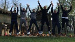 Caccia al Tesoro con iPad per team building interattivi 2.0 agriturismo Chateauform Pavia
