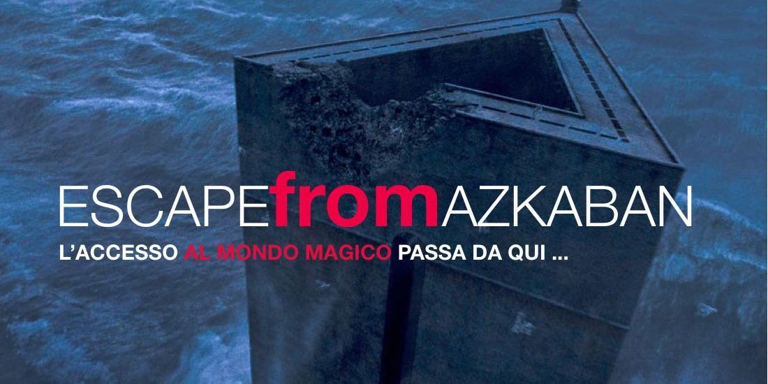 Escape from Azkaban city game - Eventi Aziendali Milano