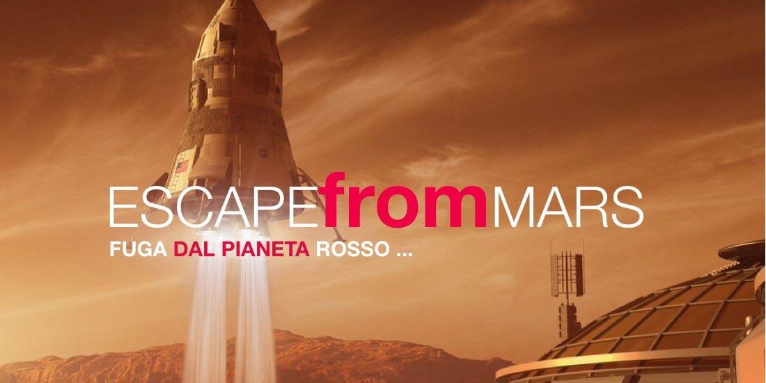 Escape from Mars indoor - Eventi Aziendali Milano